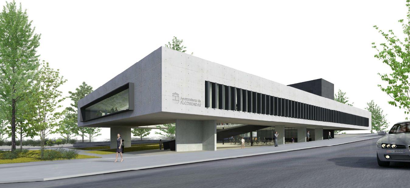 Nuestras obras dps project management for Oficinas bbva almeria